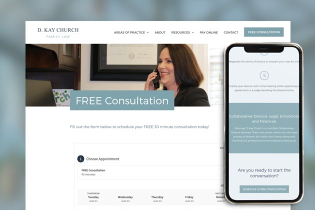 Church Family Law Firm - Scheduling App