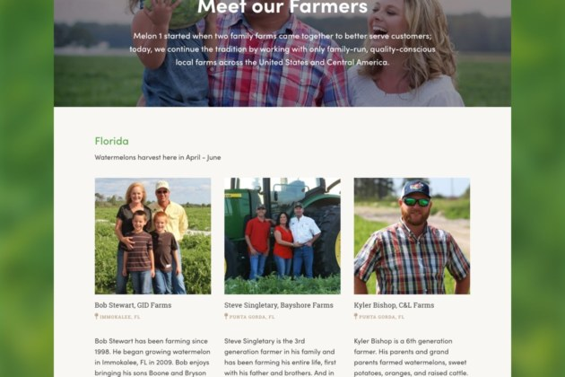 Agriculture and Farm Produce - Meet Our Famers Example