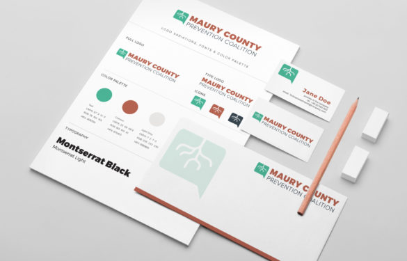 Non Profit Branding - Guidelines, Business Cards, Letterhead