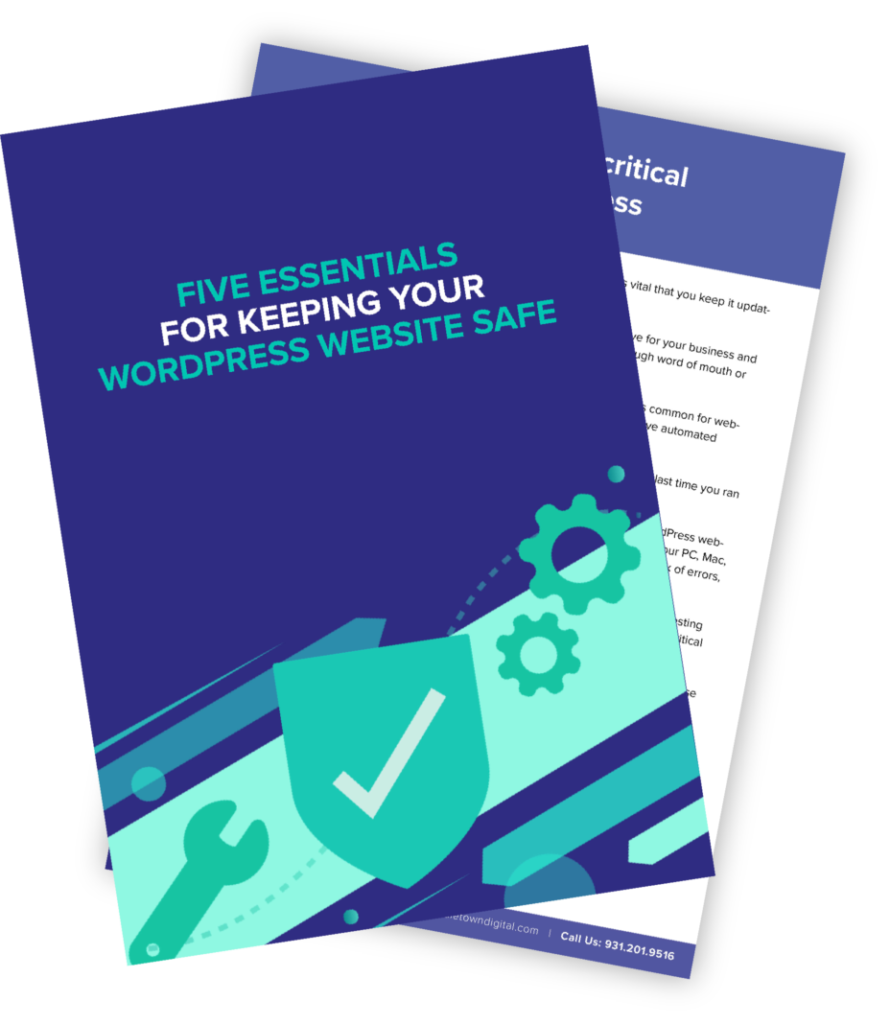 Five Essentials For Keeping Your WordPress Website Safe Book Cover