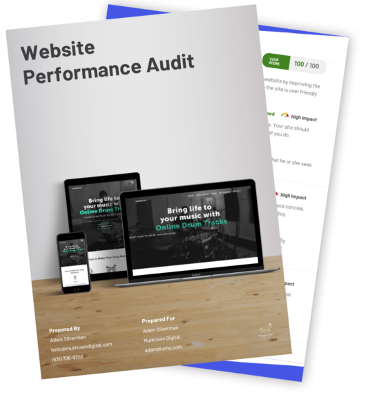 Website Performance Audit Example